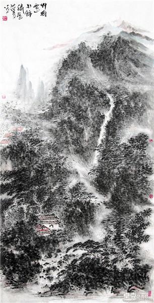 草树云山如锦绣
